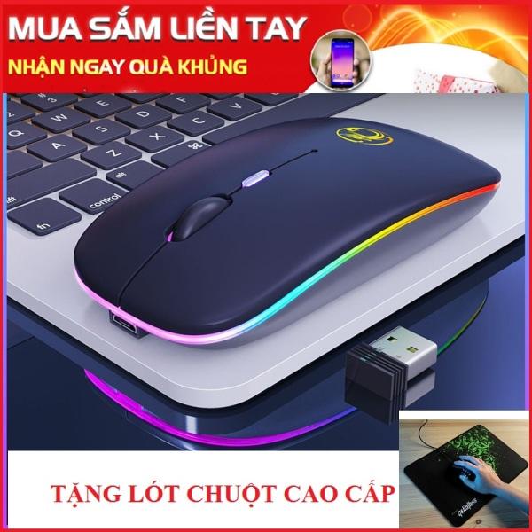 Bảng giá Chuột không dây Pin sạc Imice E1300 Dpi - Led RGB đổi màu 1300 Phong Vũ