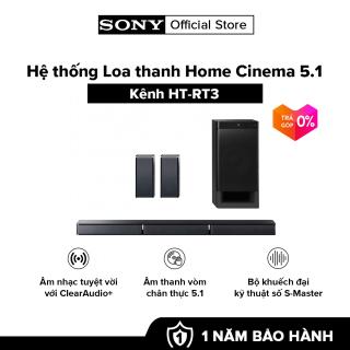 Hệ thống Loa thanh Home Cinema 5.1 kênh HT-RT3  Âm thanh vòm chân thực 5.1  Bộ khuếch đại kỹ thuật số S-Master