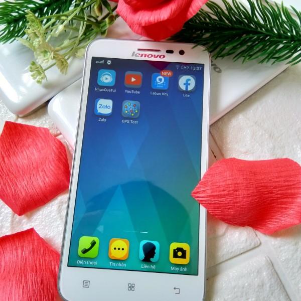 [freefire pubg] điện thoại giá rẻ Lenovo A806 Ram 2GB Rom 16GB có 4G LTE Tiếng Việt, chơi freefire vô tư mượt mà