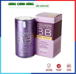 [Hàng Auth Hàn Quốc] Kem nền trang điểm chống nắng BB Cream Collagen Cellio SPF 40 PA++Hàn Quốc giúp da trắng sáng mịn màng 1