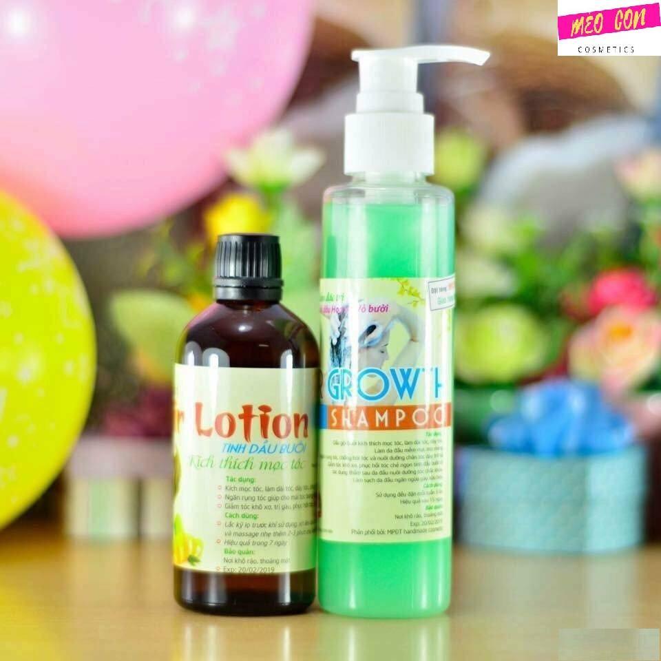 Dầu gội bưởi và tinh dầu bưởi đặc trị rụng tóc và kích thích mọc tóc