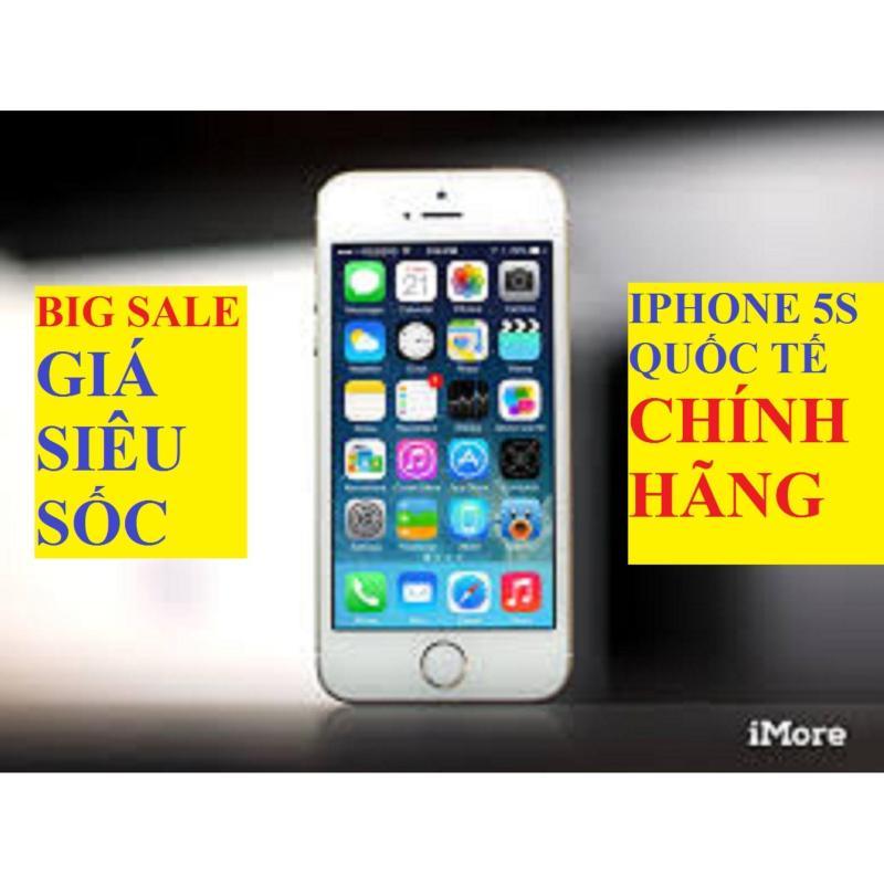 Điện thoại IPHONE 5S 32G bản Quốc Tế - Full Vân tay -Siêu Mỏng Sang Chảnh