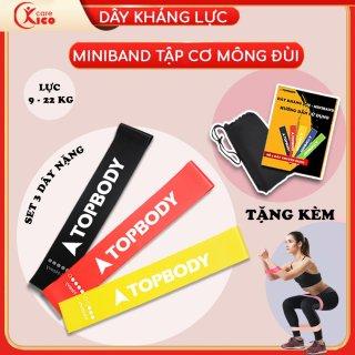Dây kháng lực, dây miniband tập mông chính hãng KICOCARE thumbnail
