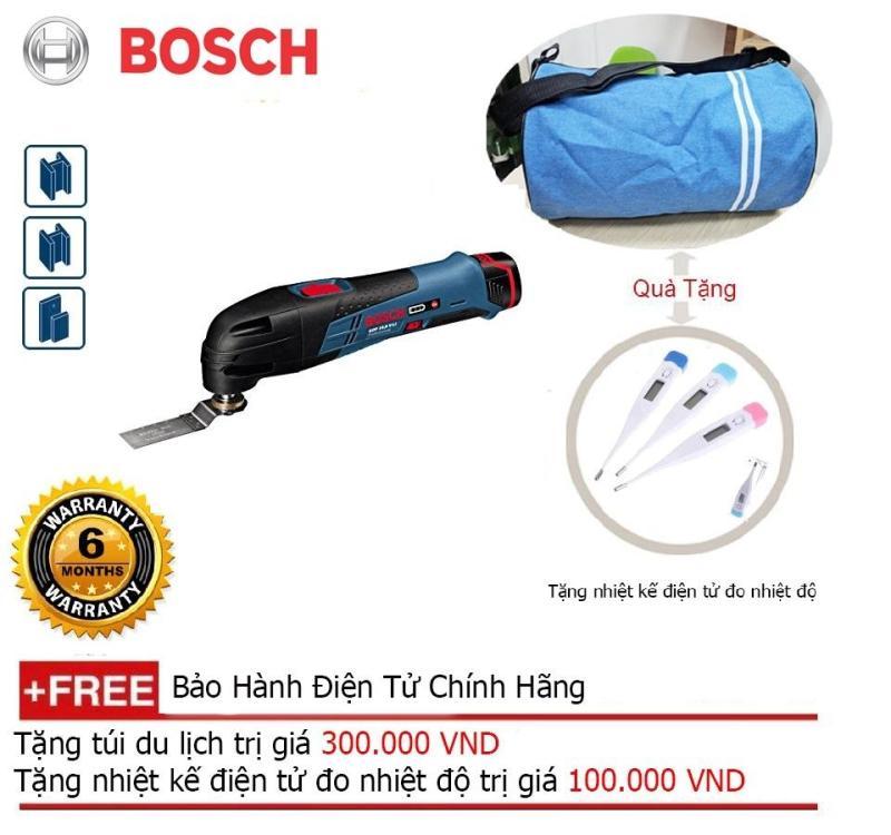 Máy cắt đa năng dùng pin Bosch GOP 12V-LI (Solo) + Quà tặng balo du lịch