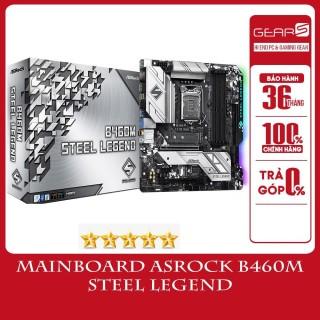 Mainboard Asrock B460M STEEL LEGEND - Bảo hành chính hãng 36 Tháng thumbnail