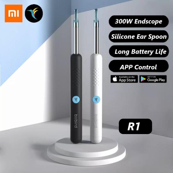 Xiaomi Bebird R1 Wireless Intelligent Visual Ear Stick Ear Picker 300W High Precision Endoscope Mini Camera Otoscope Borescope