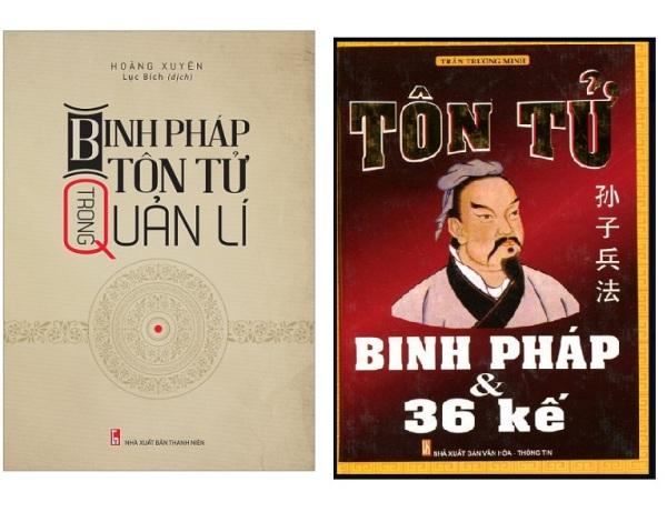 nguyetlinhbook - Combo Sách kinh tế hay nhất Binh Pháp Tôn Tử Trong Quản Lí + Tôn Tử Binh Pháp Và 36 Kế