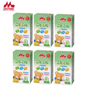 Combo 6 hộp Sữa Morinaga Số 3 Kodomil 216g hộp Cho Bé Từ 3 Tuổi - Hương Vani date T10.2021 ((không tem đổi quà)) thumbnail