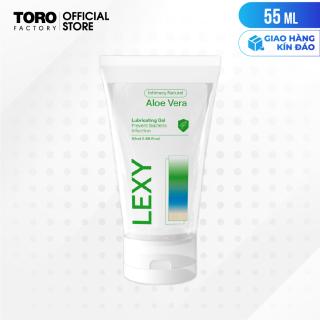 [Chai 55ml] Gel bôi trơn tinh chất lô hội - Lexy Aloe TORO FACTORY thumbnail