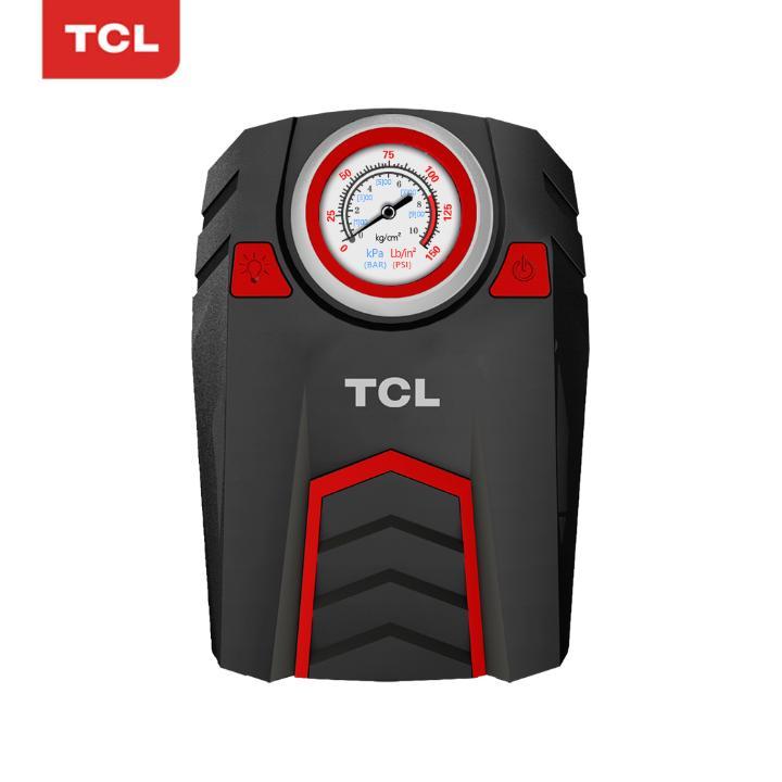 Máy bơm lốp ô tô, xe hơi màn hình cơ nhãn hiệu TCL TD1 120W 12V