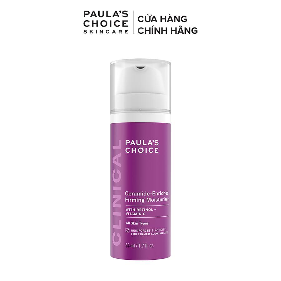 Kem dưỡng ẩm cao cấp ban đêm làm săn chắc da tăng cường sản sinh collagen Paula's Choice Clinical Ceramide – Enriched Firming Moisturizer 50ml