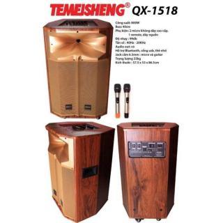 [HCM][Trả góp 0%]Loa Kéo Di Động Temeisheng QX-1518 (Vàng) thumbnail