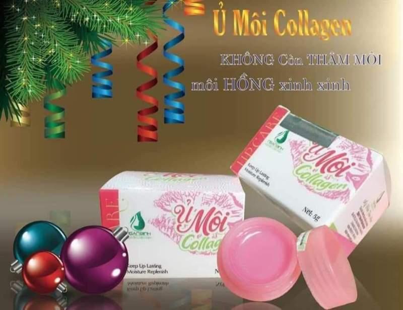 [Tặng Kèm Quà ] Ủ Môi Collagen khử Thâm môi, Giúp Hồng Môi ,Môi Căng Mọng, Môi Khô Nứt nẻ, Mềm môi