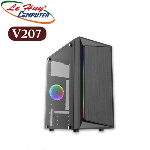 Bảng giá Vỏ Máy Tính Vsp V207 Gaming Usb 3.0(Chưa Gồm Fan) Phong Vũ