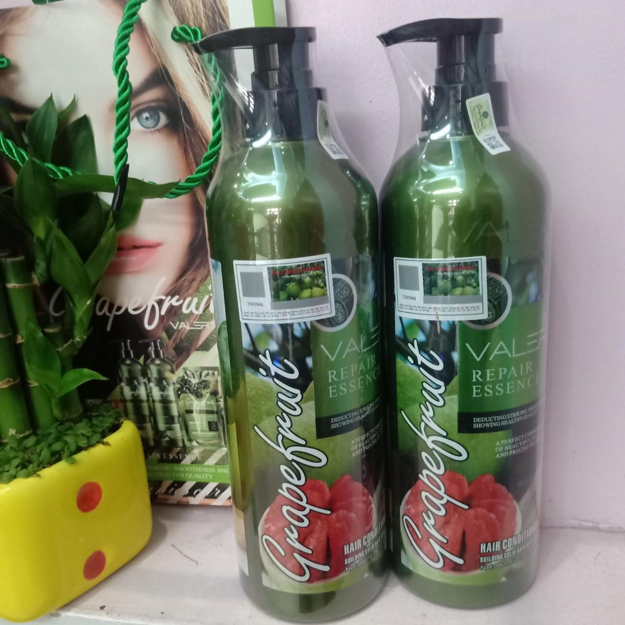 Bộ dầu gội-xả bưởi trị rụng tóc phục hồi hư tổn