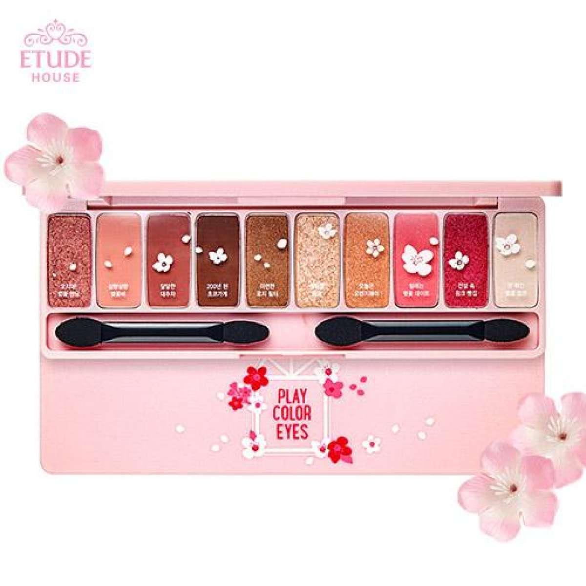 Bảng phấn mắt 10 màu Etude House Play Color Eyes Cherry Blossom