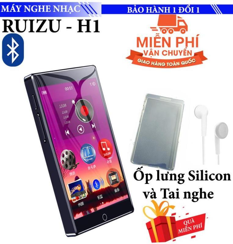 Máy nghe nhạc Mp3/Mp4 Ruizu H1 8GB Màn Hình full Cảm ứng Bluetooth 5.0 Máy Nghe Nhạc Kỹ Thuật Số Di Động Máy Thu Radio FM Ghi Âm Với Tai Nghe Gắn Mic