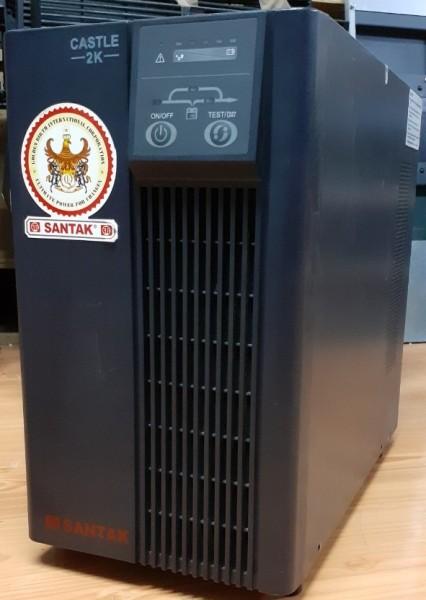 Bảng giá C2KE - Bộ lưu điện (UPS) SANTAK Online 2000VA / 1600W (bao gồm ắc quy - BH: 6 tháng) Phong Vũ