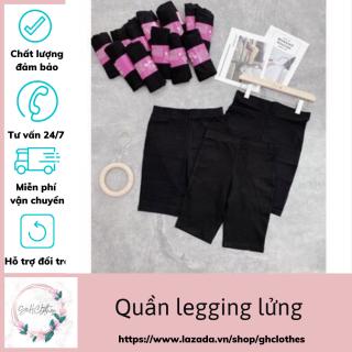 Quần Legging Nữ Lửng,Quần Legging Ngố L01 GH.Clothes,Quần Đùi Nữ Mặc Nhà Đi Tập,Đi Chơi,Đa Phong Cách,Chất Đẹp Dày Dặn Siêu giãn,Siêu Nâng Mông thumbnail