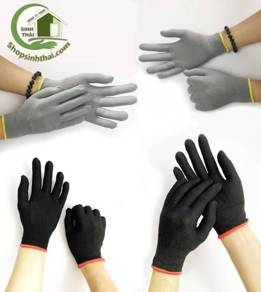 [HCM]Găng tay thun co giãn làm việc bao tay làm vườn sửa chữa dọn dẹp -  Thun trơn - chọn màu [ 1 đôi ]