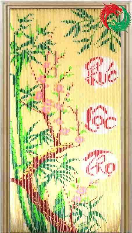 Màn hạt nhựa Nội thất Công ty Hai Con Rồng (Door Curtain) Code 836 Phúc Lộc Thọ
