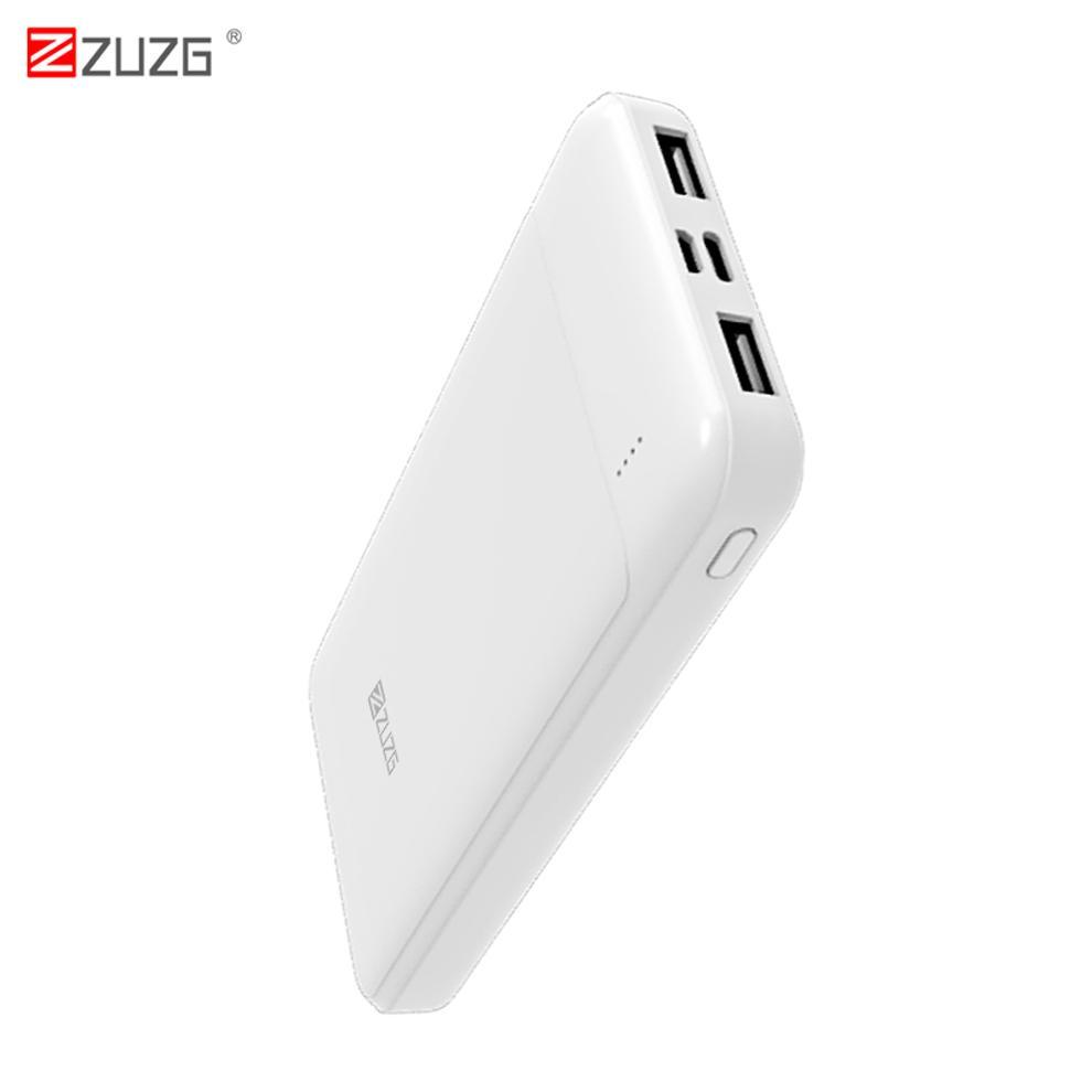 Giá [Theo dõi nhận quà tặng] Power Bank For iPhone Samsung Huawei Type C And Micro Dual Input USB Powerbank 10000mAh