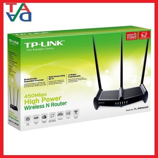 Bảng giá TP-Link TL-WR941HP - Bộ Phát Wifi Công Suất Cao 450Mbps - Hàng Phong Vũ