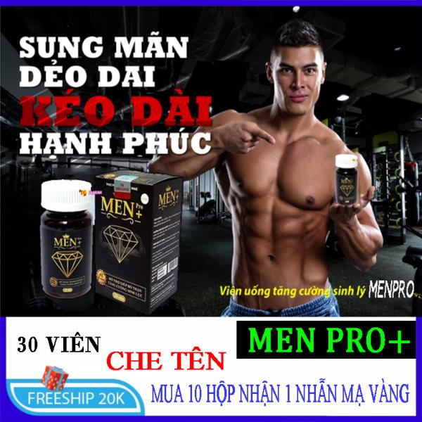 [ SALE SIÊU BÃO ] - Viên uống Chống Xuất Tinh Sớm Men Pro + cực mạnh ( 1 hộp 30 viên )