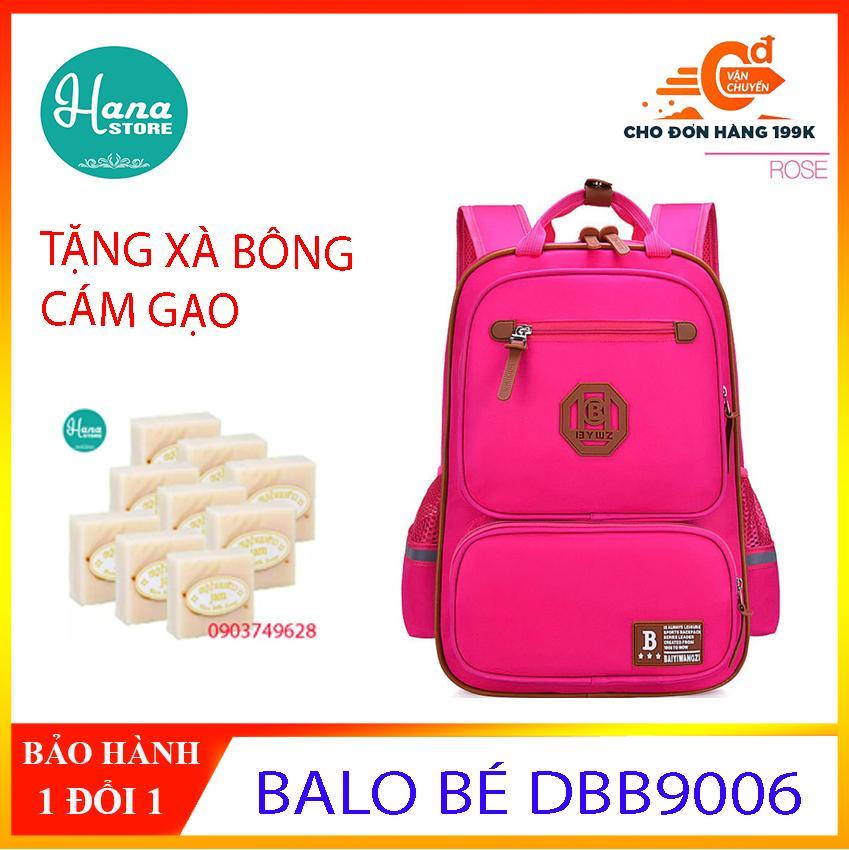 Giá bán BALO DBB9006 Balo đi học cho bé CHỐNG NƯỚC CAO CẤP - HATISU- TẶNG XÀ BÔNG CÁM GẠO