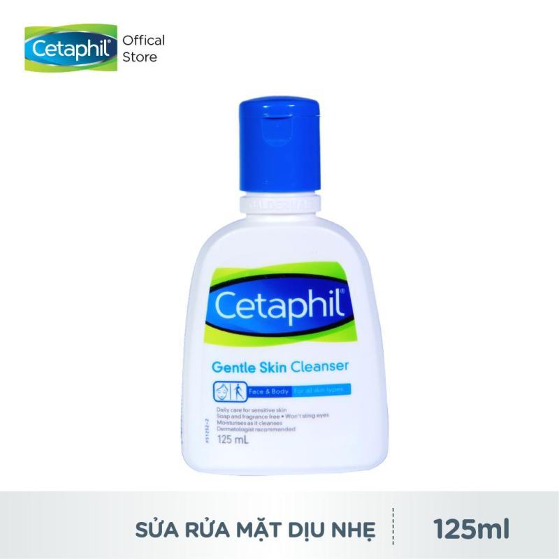 Sữa Rửa Mặt Cetaphil Gentle Skin Cleanser 125ml Cân bằng pH Dịu nhẹ cho da Không gây kích ứng