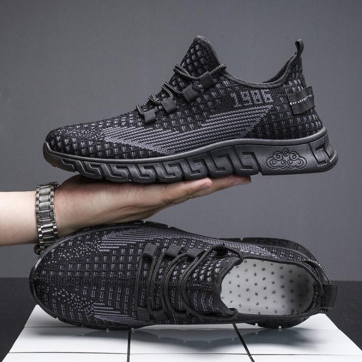 Giày thể thao sneaker nam D91 đường may tinh tế êm và ôm chân đế cao su dày dặn phong cách trẻ trung thời trang