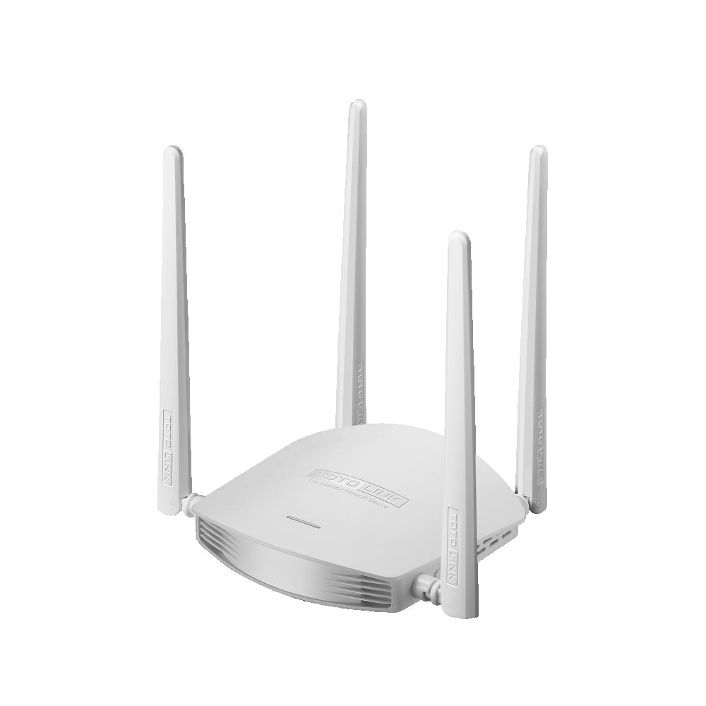 [HCM]Router Wi-Fi TOTOLINK 600Mbps N600R (Trắng) - Hãng phân phối chính thức