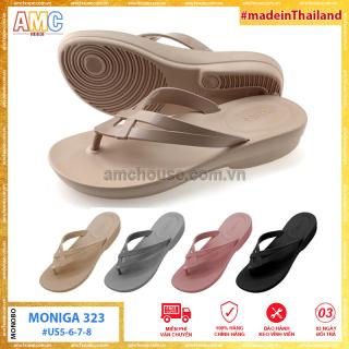 [HCM]Dép nữ Thái Lan xỏ ngón đế mềm siêu nhẹ MONOBO - Moniga 323 thumbnail