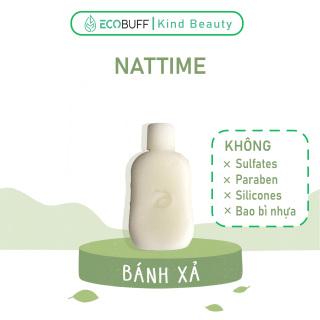 Dầu xả thiên nhiên lành tính làm mềm tóc dạng bánh Nattime phục hồi hư tổn chiết xuất bơ shea B5 - Handmade Ecobuff thumbnail