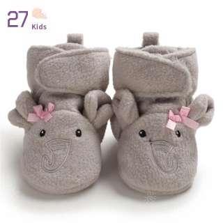 27 Trẻ Em 0-1-Năm-Tuổi Bé Động Vật Dễ Thương Ấm Trẻ Mới Biết Đi Đế Mềm Cotton Socks Giày Boots