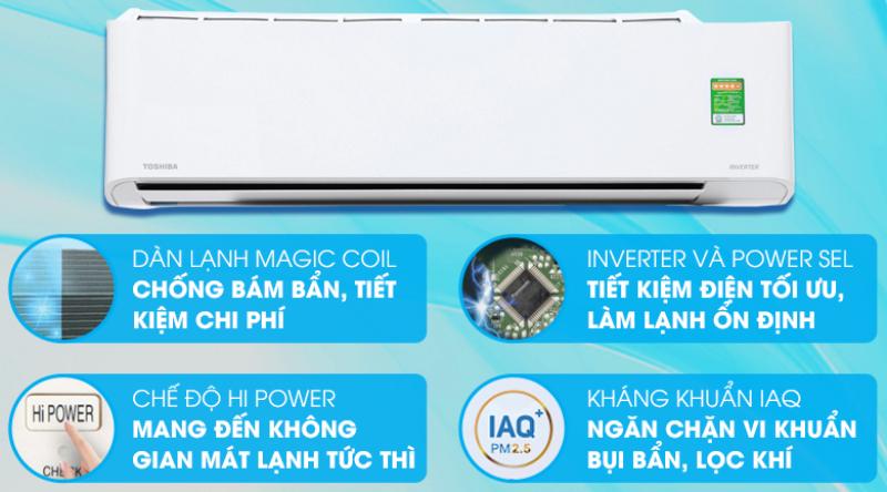 Bảng giá Máy lạnh Toshiba inverter H18PKCVG-V