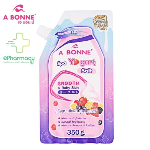 A BONNÉ Muối Tắm Tẩy Tế Bào Chết Spa Yogurt Salt Smooth and Baby Skin mịn màng, sáng da 350G