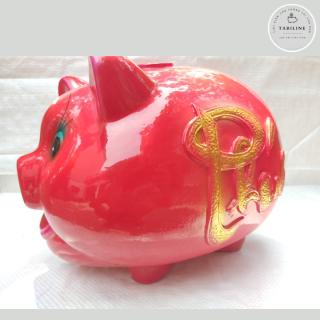 Lợn đất tiết kiệm đựng tiền size SIÊU TO cute đẹp giá rẻ TABILINE LD06 2