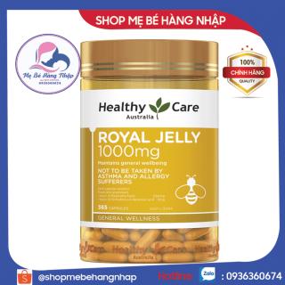 [Mẫu mới] Sữa Ong Chúa Healthy Care Royal Jelly 1000mg -365 viên - Úc chính hãng thumbnail