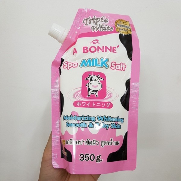 muối bò .t.ẩ.y. tế bào chết A Bonne chính hãng Thái Lan