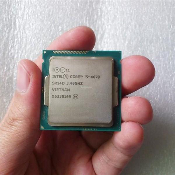 Bảng giá [HCM]CPU Intel Core i5 4670 (3.80GHz 6M 4 Cores 4 Threads) socket 1150 Tray đã bao gồm Fan Phong Vũ