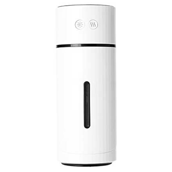 Portable Rechargeable White Humidifier, Mini Cool Mist Cute Mini One Press Shut-Off for Home Office Bedroom Desk Table Singapore