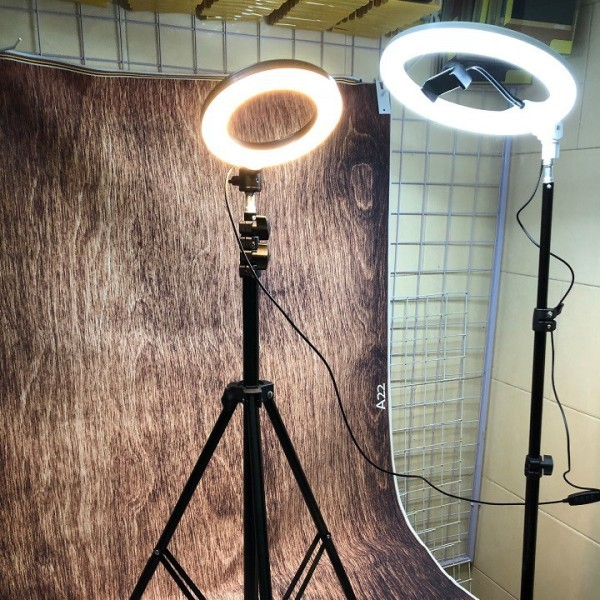 [ XẢ KHO ĐÈN LIVE STREAM 26cm-46cm ] Đèn Led Livestream Cao Cấp | Hỗ trợ LiveStream Cực Đỉnh, Đèn Hỗ Trợ Bán Hàng, Live stream, Chụp Hình, Makeup, Đèn Led Ring Light hd18s Có Đế Chụp Live Stream (đèn 33cm, chân cao 2m1), Bảo hành 12 Tháng