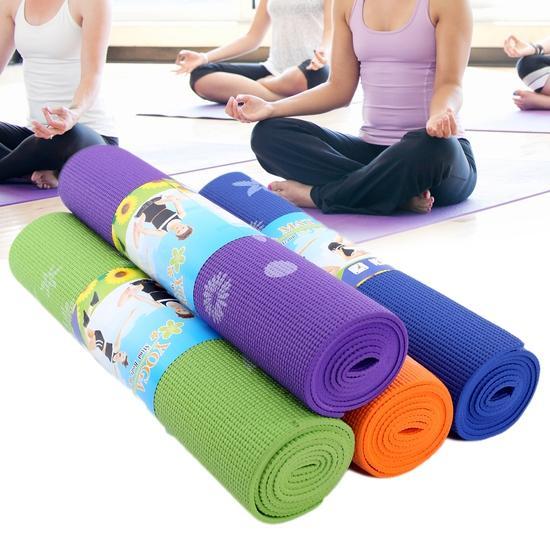 Thảm Tập Yoga Loại Cao Cấp Có Túi Đựng (Nhiều màu)