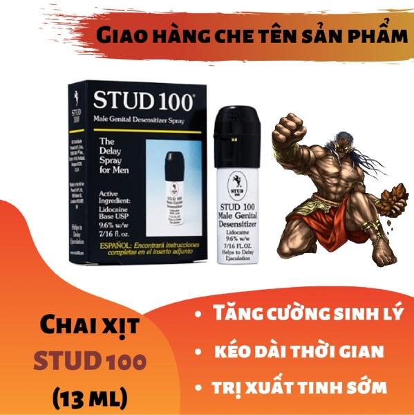 Chai xịt STUD 100 cao cấp tăng cường sinh lý nam mạnh mẽ (chai 10ml) - hàng chính hãng