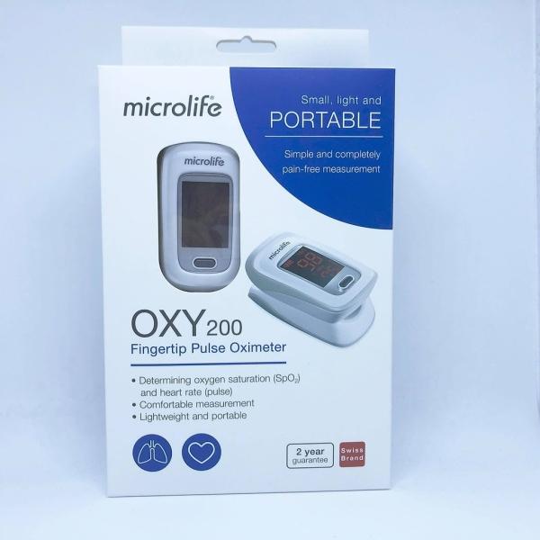 Nơi bán Máy Đo Nồng Độ Oxy Trong Máu SPO2 OXY200 chính hãng Microlife Thụy Sĩ dùng để đo nhịp tim và nồng độ oxy trong máu