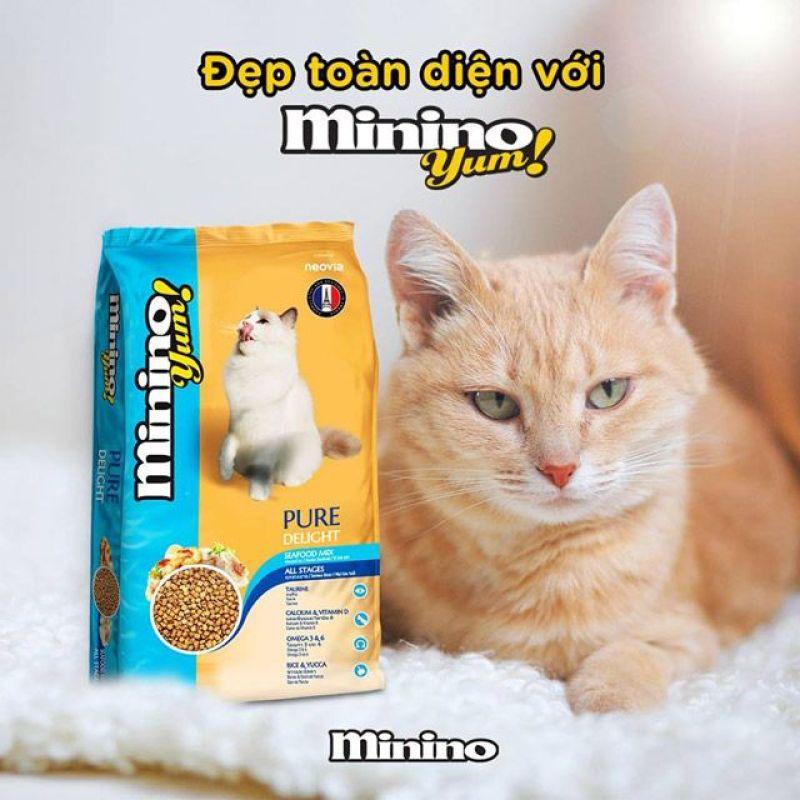 Thức ăn hạt cho mèo Minino Yum