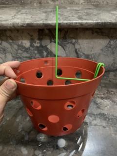 5 Ghim chậu trồng lan, que cắm chậu gài kie phong lan thumbnail