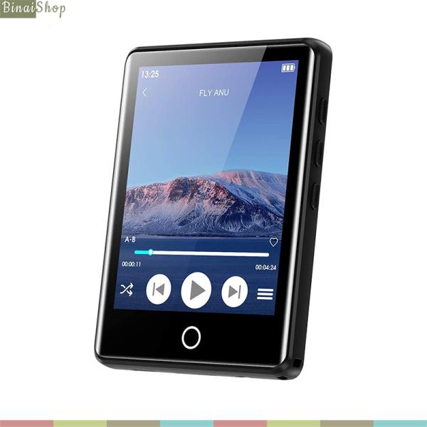 Ruizu M6 - Máy Nghe Nhạc Màn Hình Cảm Ứng 2.8 Inches, Bluetooth 5.0, Loa Ngoài, Pin 50h, Hỗ Trợ Thẻ Nhớ 128gb