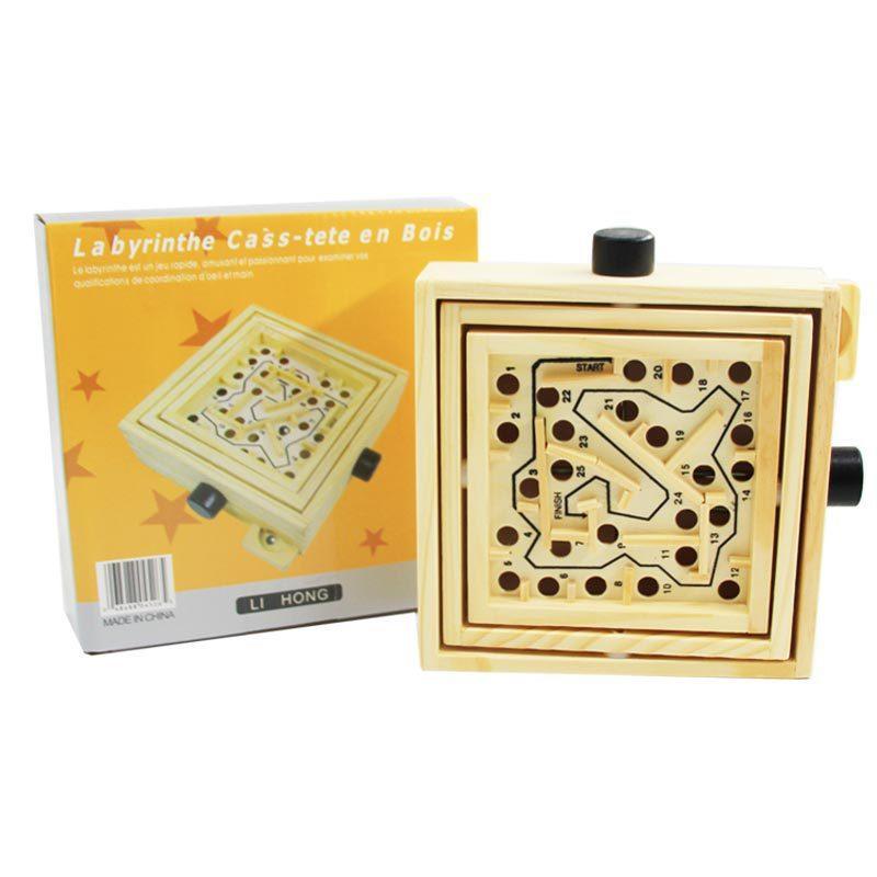 Đồ chơi trẻ em Mê cung bằng gỗ giúp tăng...